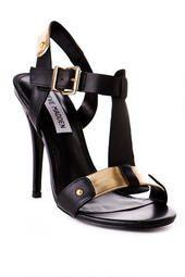 Steve Madden Shoes, Reya T-Strap Heel in Black