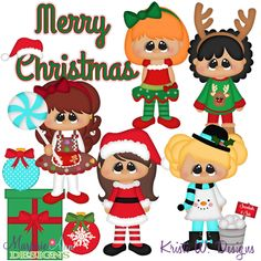 Christmas Cuties SVG-MTC-PNG plus JPG Cut Out Sheet(s) Our sets also include clipart in these formats: PNG & JPG