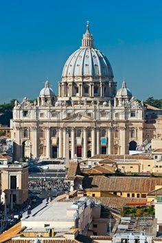 Vue de San Peter carrés, Rome, Italie. photo