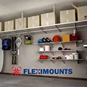Amazon.com : overhead garage and basement storage rack