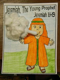 Hands On Bible Teacher: Jeremiah the YOUNG PROPHET