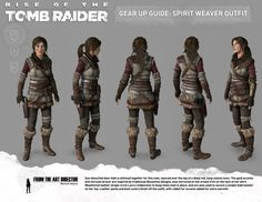 Rise Of The Tomb Raider - The Spirit Weaver - http://tombraiders.net/stella/walks/TR10walk/outfits.html
