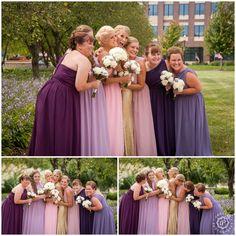 lilac bridesmaid and groom - HD1020×1024