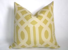 Decorative Designer Pillow  Imperial Trellis by WillaSkyeHome, $33.00