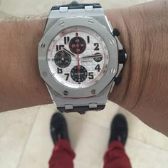 Preowned like new, super mint Audemars Piguet Panda an Iconic Watch from AP…
