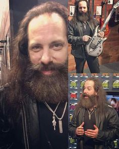 John Petrucci with a limited edition nomac Majesty guitar John Petrucci, Dream Theater, Guitar Players, Music Bands, Drums, Legends, Instruments, Shots, Passion