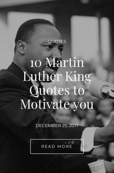 Martin Luther King was an American Baptist minister and activist who had become the most visible spokesperson and leader in the civil rights movement. Martin Luther King Quotes, Civil Rights Movement, Motivate Yourself, Read More, Motivational Quotes, Motivational Life Quotes, Motivation Quotes, Motivational Quites, Motivational Words