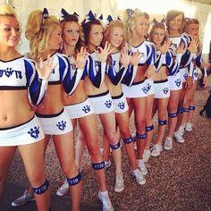 Cheer Athletics Wildcats girls