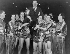 KY celebrating it's first national title win in 1946. Don't you just love history?