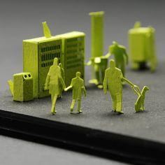 1/100 architecture models