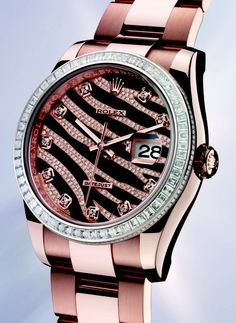 Rose Gold Pink Rolex ♥