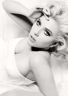 Scarlett Johanson - we aren't all blessed with great genes and stylists, etc.