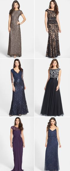 Gorgeous gowns in ALL the prettiest shades and styles!