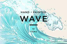 WAVE by Tanya Akhmett on @creativemarket