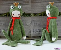[New]Krissie the Frog King by Kristel Droog (MyKrissieDolls)-Free Craft Patterns