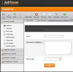 86bd6295db810 10+ Free Online HTML Form Builders