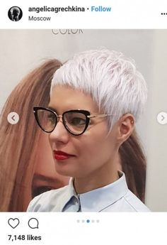 Today we have the most stylish 86 Cute Short Pixie Haircuts. Pixie haircut, of course, offers a lot of options for the hair of the ladies'… Continue Reading → Short Pixie Haircuts, Cool Haircuts, Pixie Hairstyles, Haircut Short, Hairstyles Videos, Hairstyle Short, Everyday Hairstyles, Prom Hairstyles, Short Grey Hair