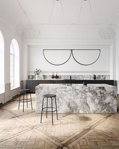 Best Simple Kitchen Designs Ideas for Small House Decoration Chord Convoy Pendant and Kitchen design by AlexAllen Studio - Add Modern To Your Life Decoration Design, Deco Design, Küchen Design, Layout Design, Design Ideas, Design Trends, Decoration Pictures, Bar Designs, Design Blog