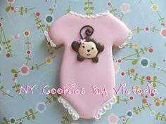 Baby Onesie Cookie