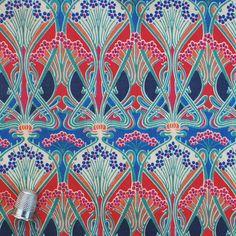 "Liberty Tana Lawn Vintage fabric IANTHE - Half a Yard - 35.5"" x 18"" (90cm x 46cm). £11.00, via Etsy."