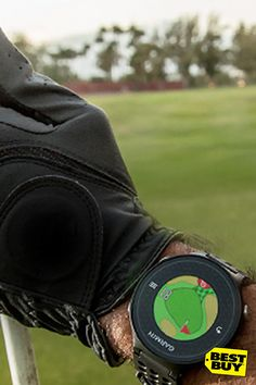 For the golf fanatic Dads in your life, the Garmin Golf Watch for Father's Day is gifting gold. Not only will it help him improve his game, it lets him view emails and notifications from you by syncing with his smart phone. What's he going to remember more, another necktie or a better back nine?