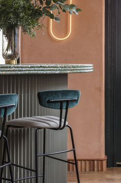 This London restaurant features 10 of the hottest interiors trends 2018