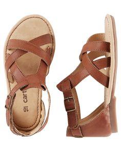 Toddler Girl Carter's T-Strap Sandals | Carters.com