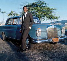 Pele and Mercedes