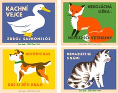 "Do I need the ""Four Animals"" series by The Head Light Hotel? Love that it's based on artwork from 1965 Prague matchbook covers. Those Tiny Showcasers got it going on!"