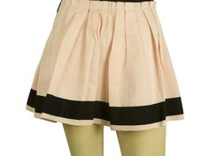Girly, hip and modern Dolce&Gabbana mini skirt that features pink color with black grosgrain ribbon, back zip closure and pleats. Pair it with a simple top and heels or with a pair of sneakers and wear it from campus to club! Black Trim, Grosgrain Ribbon, Pink Color, Cheer Skirts, Mini Skirts, Girly, Closure, Pairs, Club