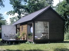 Mønhuset is a small, modular Dutch cabin building. Will need a Dutch speaking friend, as well as friend with cargo boat who can ship for free, but otherwise - I love it.