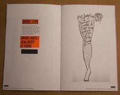 riot grrrl revival - midge belickis graphic design
