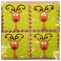 I love these little reindeer! Inspired by Cookie Bliss!