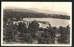 old postcard: AK Komotau / Chomutov, Alaunseebad