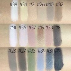 "LimeLight by Alcone eyeshadow swatches from the ""Feeling is Neutral Palette""! They are very blend able and professional quality!  www.taylor-reynolds.com"