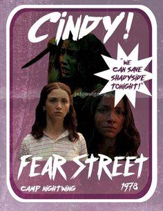 Cindy Berman Fear Street 1978 Inspired Poster Print!