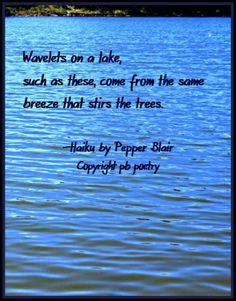 Wavelets--See more of Pepper Blair's work: http://www.love-pb-poetry.com/