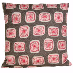 16x16+Cushion+Cover+16+Inch+Pillow+Cover+Pillow+Sham+by+CoupleHome,+$26.00