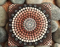 Dot Painting Authentic Australian Aboriginal by RaechelSaunders