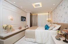 Bons sonhos com este quarto delicado e belo by Dani Holanda.  Amei! @pontodecor  Me encontre também no @pontodecor  HI Snap  hi.homeidea  www.homeidea.com.br #bloghomeidea #olioliteam #arquitetura #ambiente #archdecor #archdesign #hi #cozinha #homestyle #home #homedecor #pontodecor #homedesign #photooftheday #love #interiordesign #interiores  #picoftheday #decoration #world  #lovedecor #architecture #archlovers #inspiration #project #regram #quartocasal