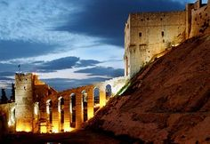 Just which castle is the world's oldest is up for debate, but Syria's Citadel of Aleppo should at least be part of the conversation. Its history goes back to the Hellenistic period more than 2,000 years ago; even before that, the Assyrians built a temple on the site, and the biblical prophet Abraham is said to have walked these grounds.
