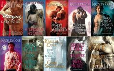 Immortals After Dark by Kresley Cole.  An Awesome Series !!!!!!!!!!!!!!!!