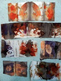 eco dyeing by Elizabeth Bunsen