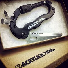Utility Carabiner by Acrylick. $40