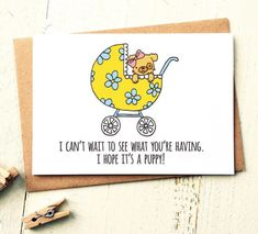 Funny New Baby Card - Birth Cards - Funny Baby Card - Pregnancy Card - Congrats Baby Card - Congratulations Baby - Humour - New Mum