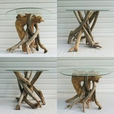 Charming Check Out Our In Stock Driftwood Side Tables! Hurry We Only Have 2 Left!