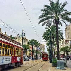 Good morning New Orleans! | #neworleans #streetcar #nola #canalstreet  #frenchquarter #louisiana by n0emz