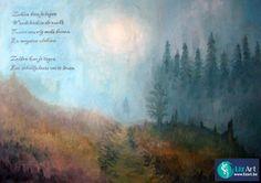 Schilderij met gedicht