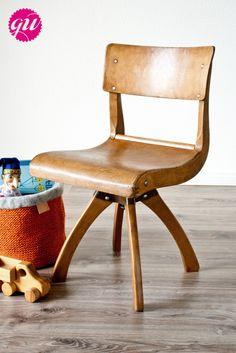"""Stühle - Antikes Kinderstühlchen """"Casala"""" (Dre... - ein Designerstück von Glaenzend-Weiss bei DaWanda"""