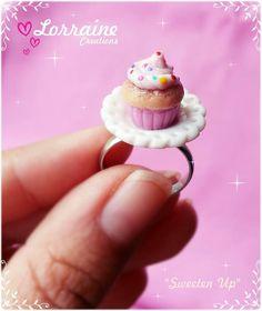 Cupcake ring $45 MAN